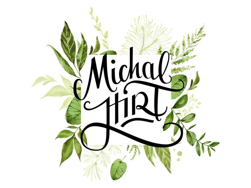 Michal Hirt Grafik und Lettering